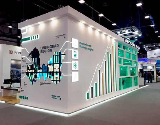Exhibition Stall Layout : Creative stall fabrication and booth designing #exhibition #stall