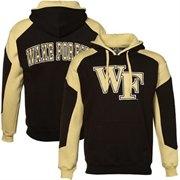 Wake Forest Demon Deacons Black-Gold Challenger Hoody Sweatshirt