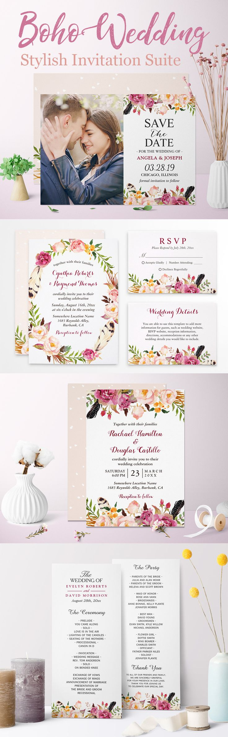40 best Spring Wedding Invitations images on Pinterest | Spring ...
