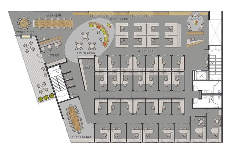 Coworking Space Plan - Google Search