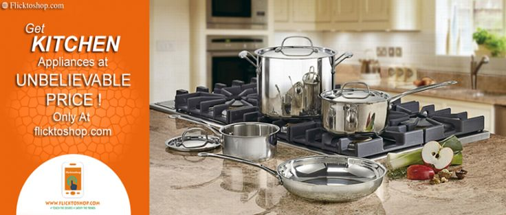 Get Kitchen appliances online at unbelievable prize only at Flicktoshop. #flicktoshop #kitchenappliances #onlinecrockerystore #kitchenanddining #cookwares #glasswares #homefurnishing #fastdelivery https://www.flicktoshop.com/blog/shop-kitchen-appliances.html