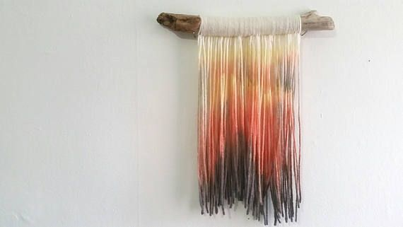 Hey, I found this really awesome Etsy listing at https://www.etsy.com/ca/listing/549429843/handmade-tapestry-fibre-art-volcano-wall