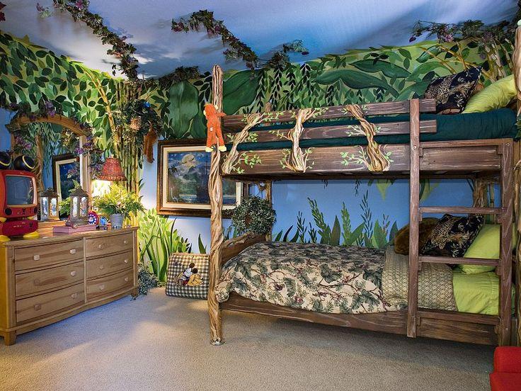 Disney-themed vacation rental with Jungle room || Anaheim, California #disneyland
