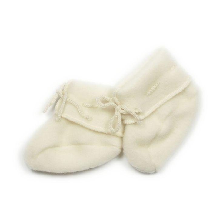 Engel babyboots in organic wool fleece
