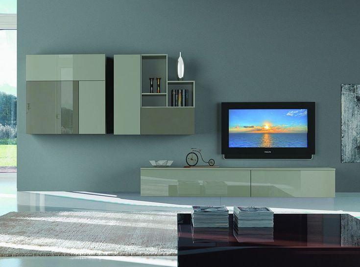 Italian Wall Unit 3D 01 by Artigian Mobili - $4,175.00