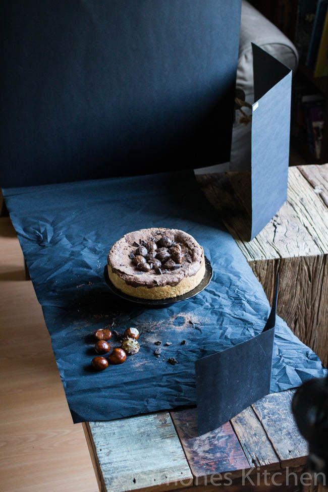 Chocolate chestnut cake and shooting dark - Simone's Kitchen EN