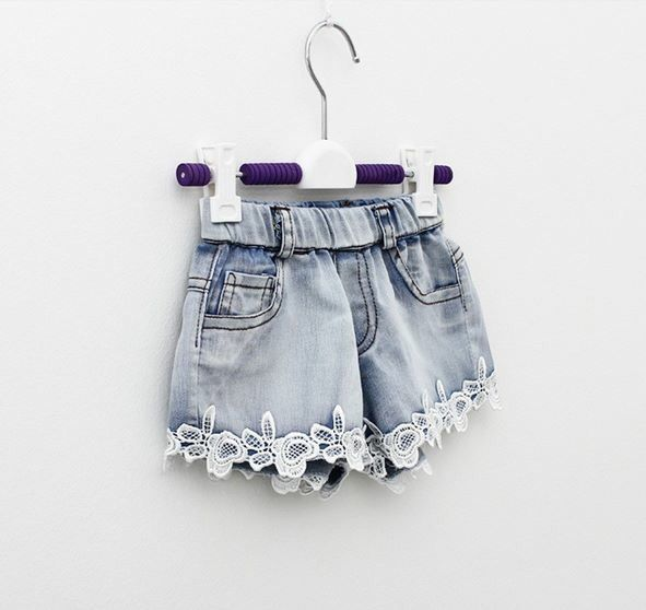 Our denim and lace shorts <3 Find Handsome and Divine on Facebook