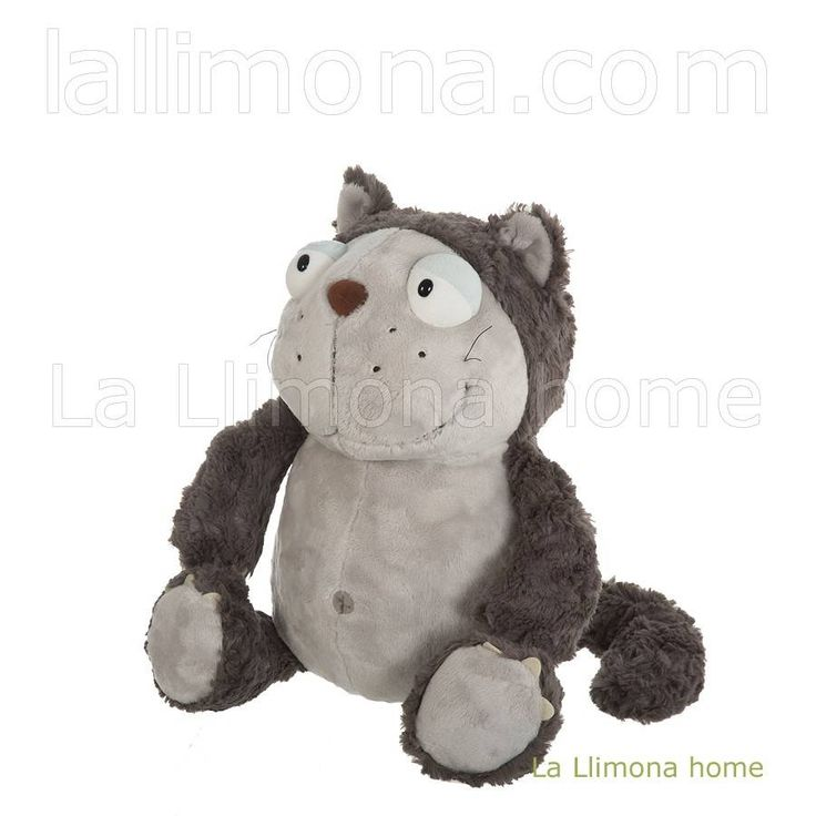 Nici peluches y complementos - Nici gato Lazy peluche 35