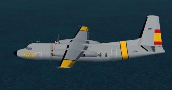 Fokker F27 Mk200 SAR