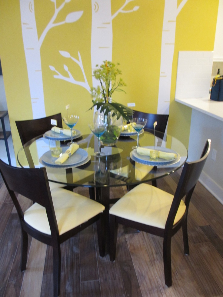Kb home summit hall gaithersburg md yellow and blue for Mina s kitchen