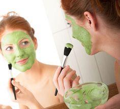 Hydrating Avocado Mask |  7 Easy, DIY Face Masks - SELF                                                                                                                                                                                 More