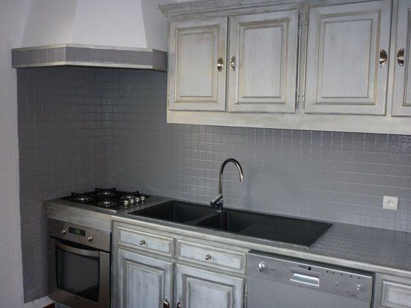 cuisine apres - gris taupe