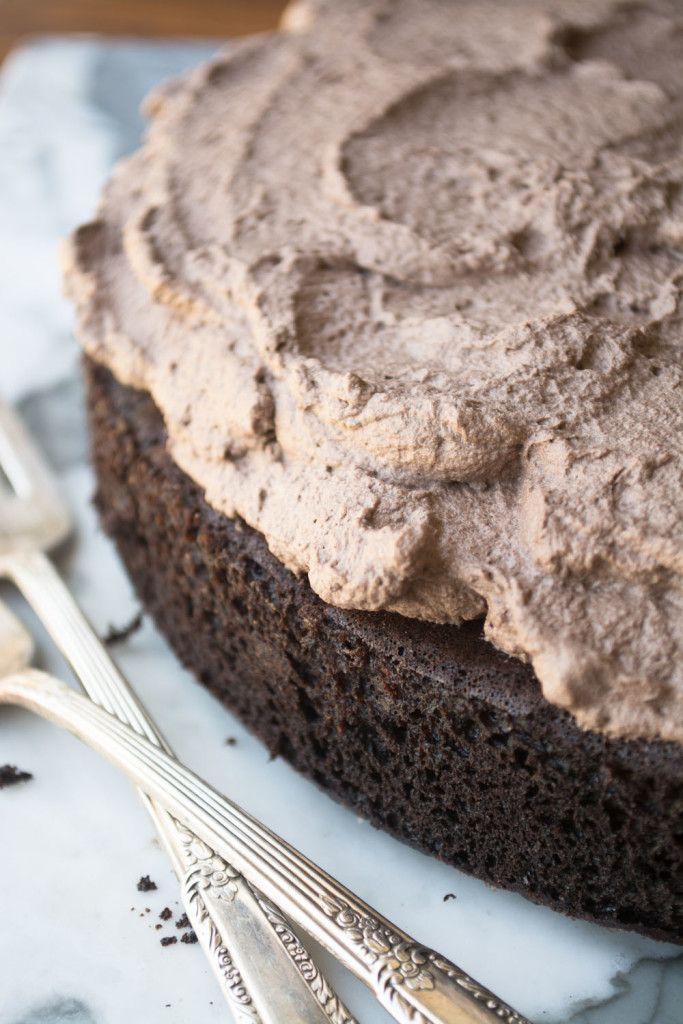 Quinoa Chocolate Cake, a healthier version of everybody's favorite!