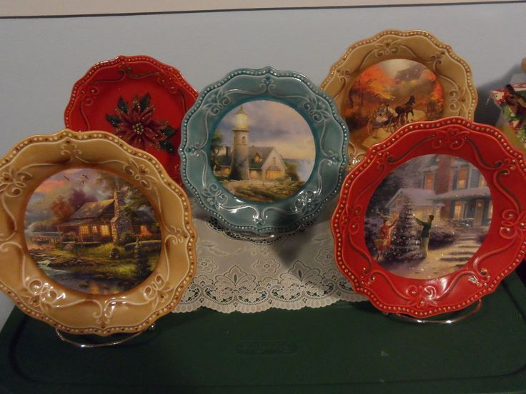 Don't Throw That Old Picture Calendar Away, Make a Decorative Plate!