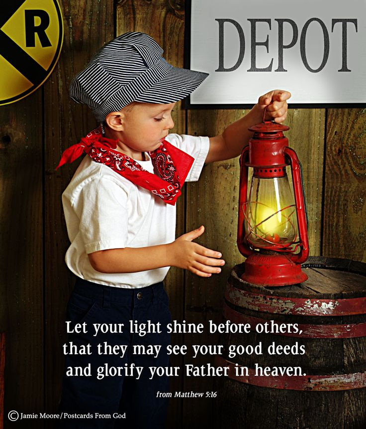 Let your light shine!  www.facebook.com/PostcardsFromGod