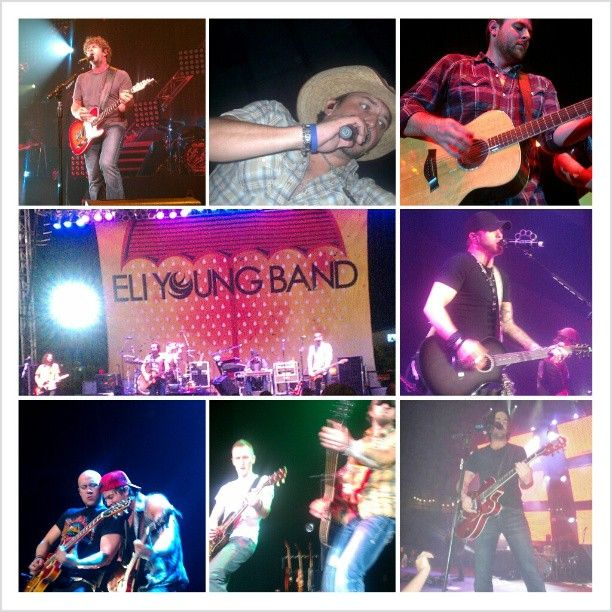 Country hotties! Pics from concerts I've been to, all but the Eli Young Band are front row :-) #countryboys #music #concerts Photo by rachel_rhine