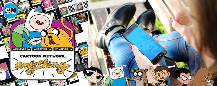 Get the Cartoon Network Anything app to start playing mini games, puzzles, quizzes and watching videos. Still not convinced? Click here...