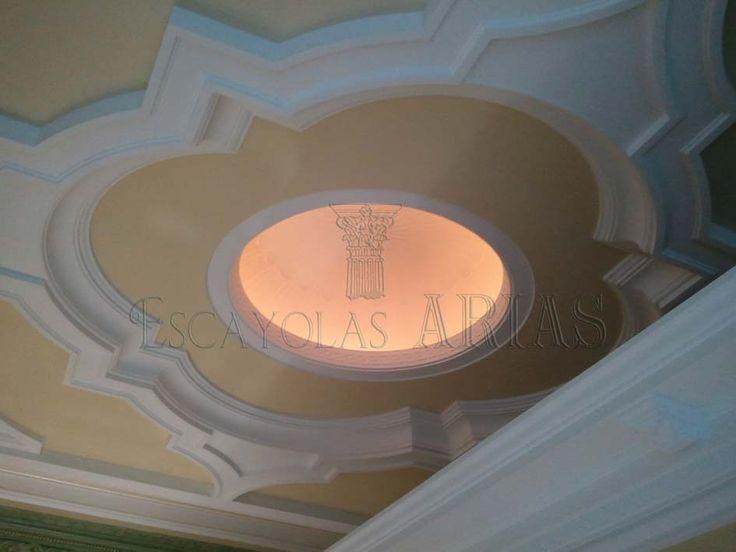 C pula con luz indirecta mis preciosos techos - Luz indirecta ...