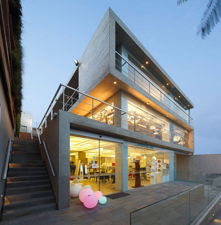 Designed by gonzalez moix arquitectura, the zentro commercial and office building.