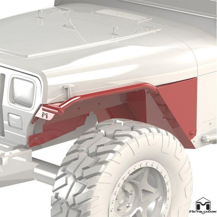 Overline Tube Fender Pair Yj Jeep Wrangler Yj Jeep Yj Jeep Wrangler