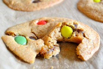 cookie au smarties