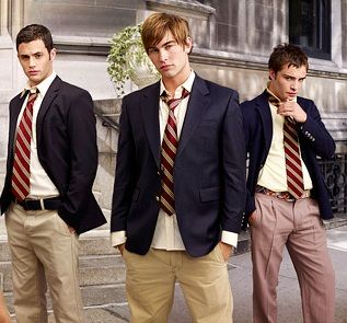 """The uniforms for the boys of the private school will look similar like the uniforms in the drama """"Gossip Girl""""."""
