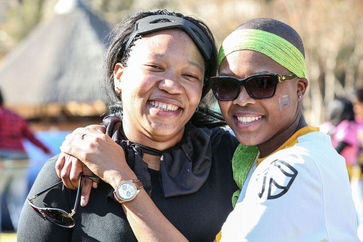 Bongiwe and Yolande! #Foozball #FHTeamZA #FHFB14