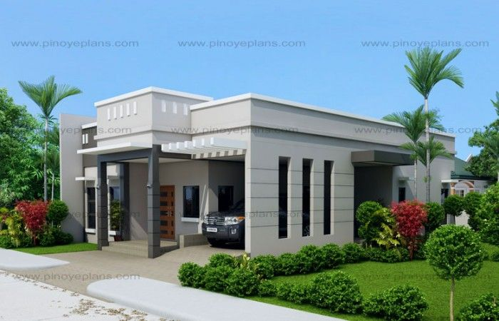 Beautiful House Designs And Plans | Pinterest | Flat Roof House Designs, Modern House  Design And Flatu2026