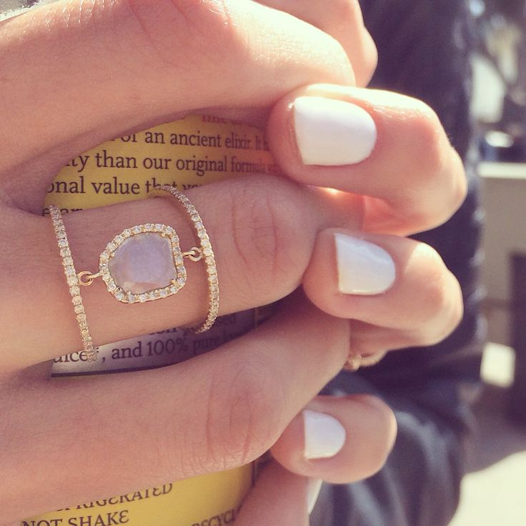 14kt yellow gold raw sliced diamond double band ring – Luna Skye by Samantha Conn