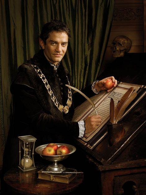 The Tudors,,, James Frain stars as Thomas Cromwell,,, The whole time watching him,, You can't wait for him to get what is coming to him,,, But when it does ,, you feel sorry for him at his end of life,,, D.H.