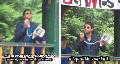 "(gif set) GISHWHES 2013 ""...all qualities we lack."""