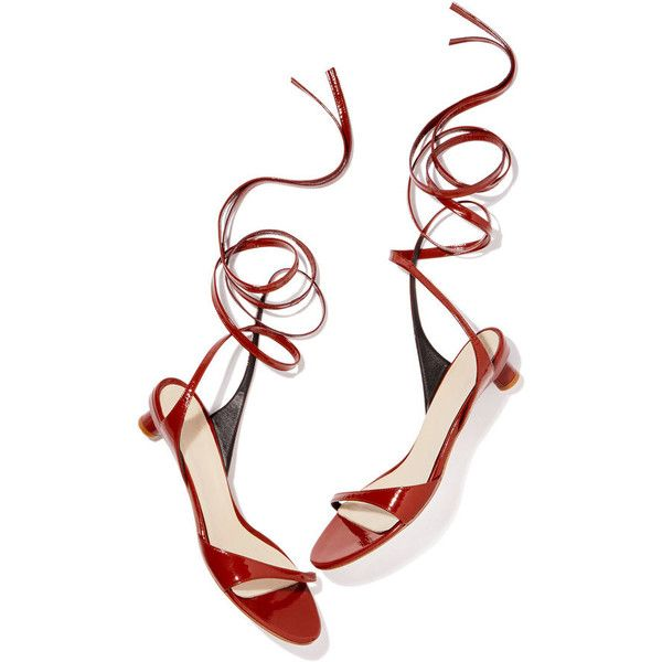 Scott Kitten Heels ❤ liked on Polyvore featuring shoes, pumps, wrap shoes, ankle tie pumps, wrap around shoes, ankle wrap shoes and wrap around ankle shoes
