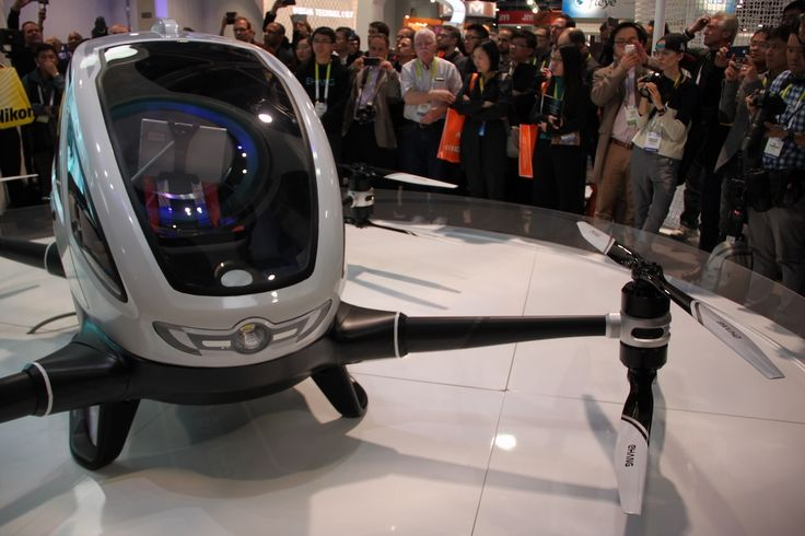 Chinese Drone Company Unveils Insane Autonomous Flying Pod for Humans | Motherboard