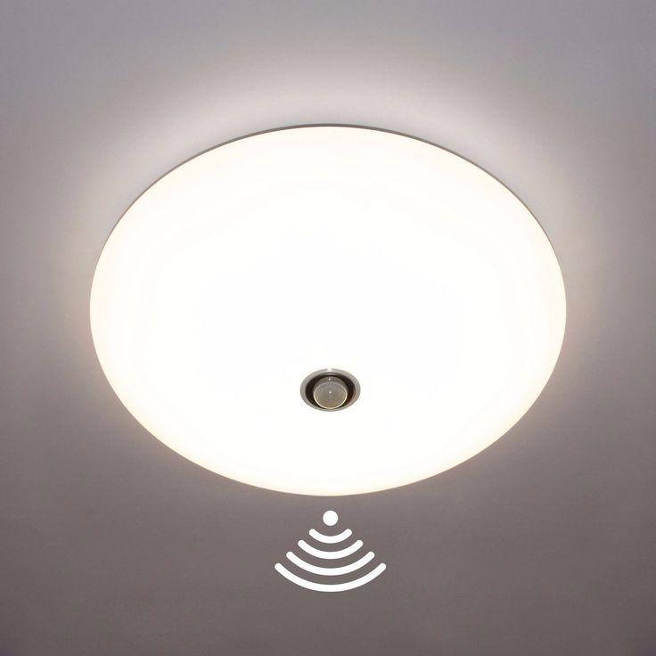 LED Deckenleuchte Wandlieuchte Bewegungsmelder Leuchte Lampe Deckenlampe Opal
