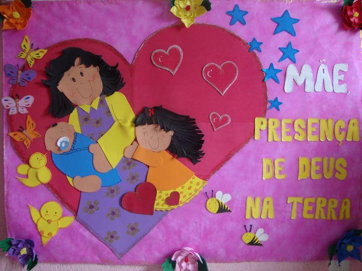Datas Comemorativas - painel para o dia das mães