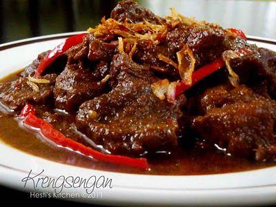 HESTI'S KITCHEN : yummy for your tummy: Krengsengan