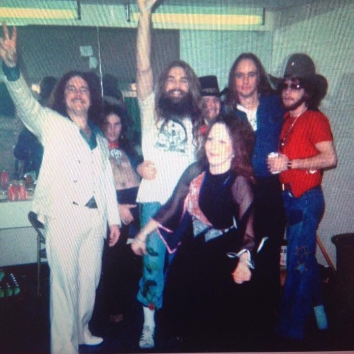 Billy, Artimus, JoJo, Ronnie, Rickey Medlocke, and Leon