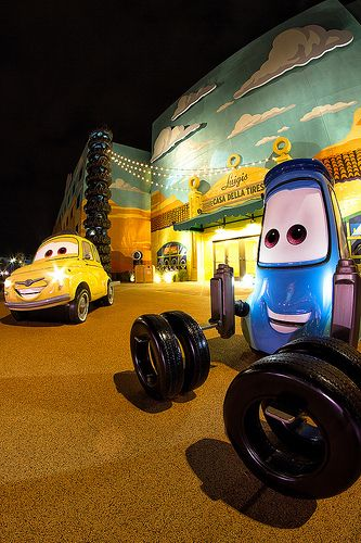 Art of Animation Resort WDW Disney Resort Cars Wing