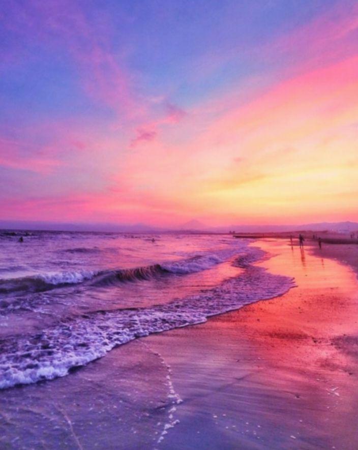 15+ Wallpaper iPad Beach Sunsets in 2020 Sunset