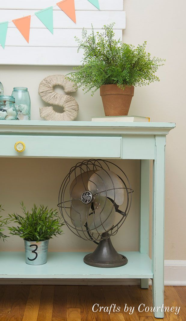 Diy sofa table makeover chalk paint to the rescue - Makeover diy sofa table makeover chalk paint to the rescue sofa