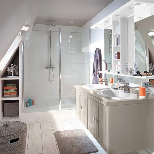 Castorama collection salle de bains douche sur mesure for Castorama salle de bain douche