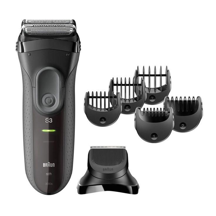 Si quieres lucir una barba perfecta la Afeitadora Braun 3000 BT y Gomestic.es te lo ponen fácil