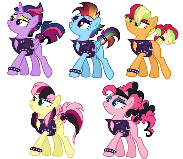 My little pony boyfriends and girlfriends