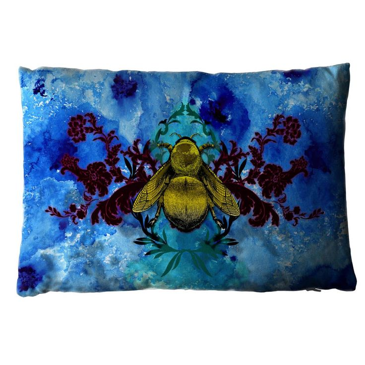 Blue Blotch Bee. Shop - Timorous Beasties - CRAZY BEAUTIFUL things here!!!