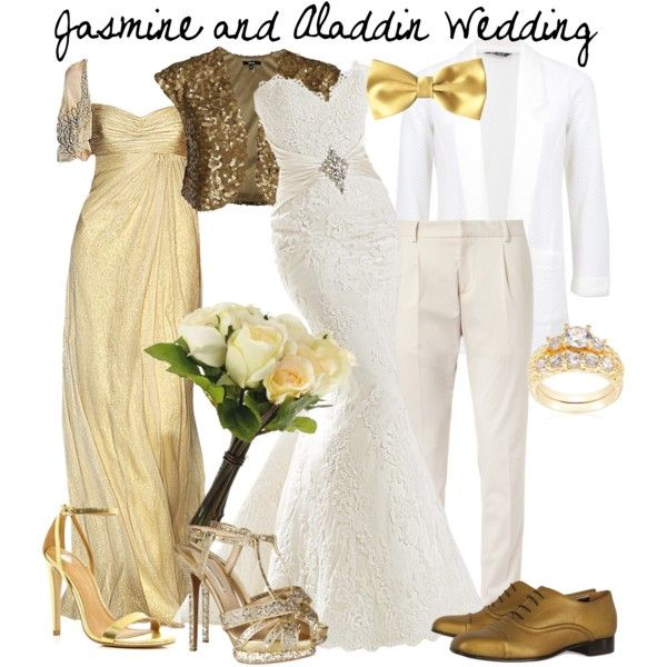 """Jamine and Aladdin wedding"" by jess-d90 on Polyvore"