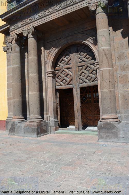 San Juan del Rio Church Main Door