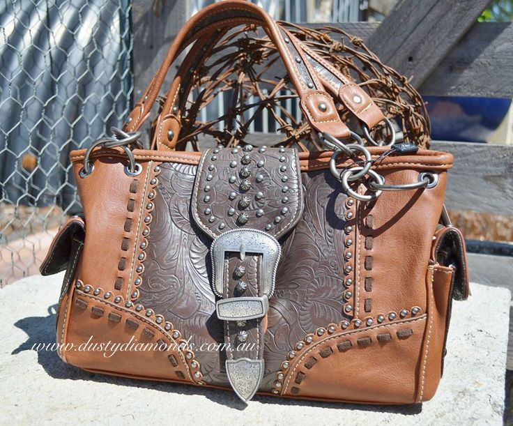 Montana West Rancho Buckle Handbag Www.dustydiamonds.com.au