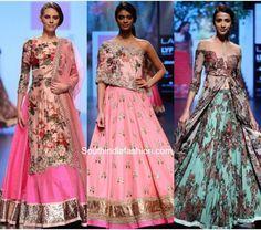 Anushree Reddy at Lakme Fashion Week Winter Festive 2016 2