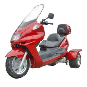 Trike Moped Motor Bike 150cc Touring Gas Motor Scooters
