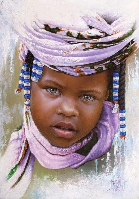 Children of Africa ~ Dora Alis Mera